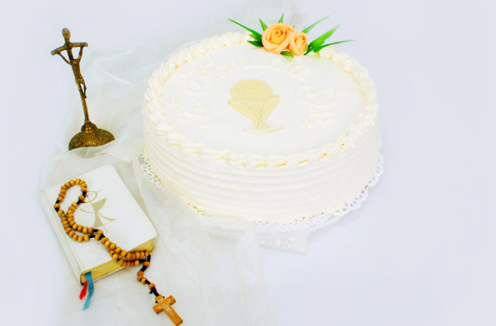 Tort okrągły komunia